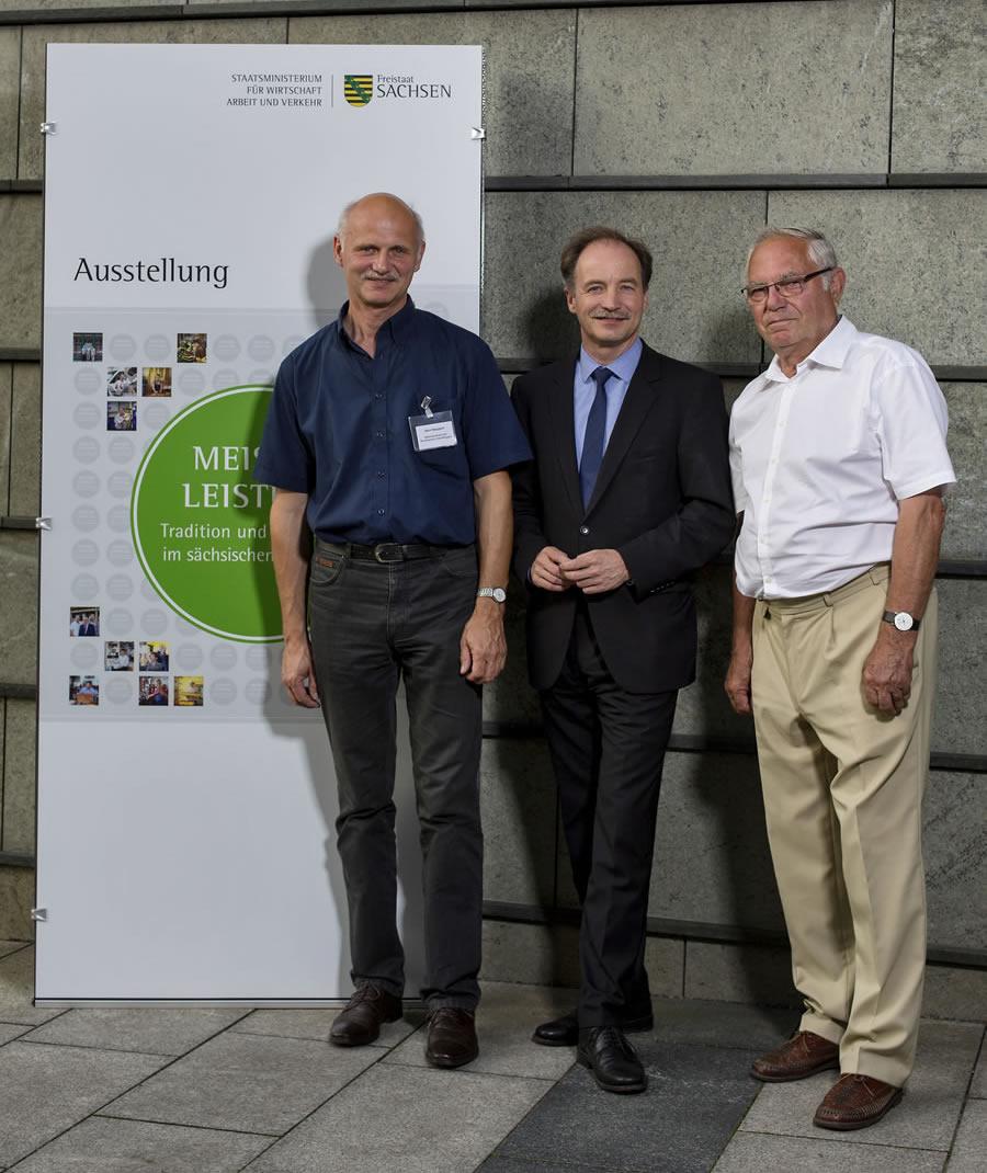 """""""Sommer 2014 im sächsischen Staatsministerium für Wirtschaft, Arbeit und Verkehr"""